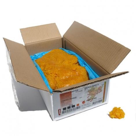 Pâte d'orange épaisse