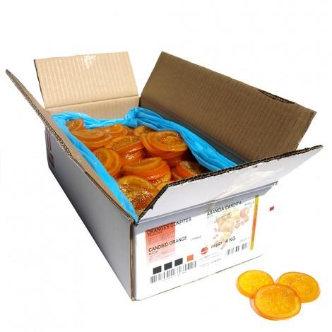 Tranches d'oranges confites