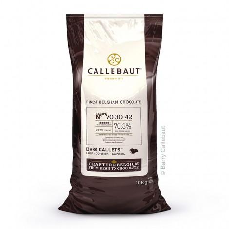 Chocolat de couverture noir 70,3 %
