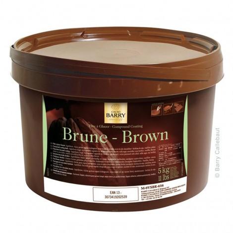 Pâte à glacer brune