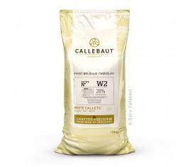 Chocolat blanc 28,3% Recette W2
