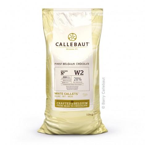 Chocolat de couverture blanc 28 % 10 kg