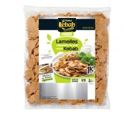 Lamelles végétales au soja façon kebab 850g