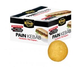 Pain rond pour sandwich / kebab 110g - 36 pains