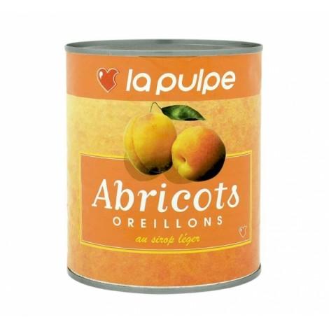Oreillons d'abricot au sirop léger