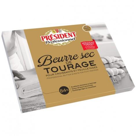 Beurre sec Tourage 84% Plaque 2 kg