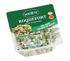 Roquefort société dés barquette 500g