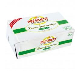 Beurre demi-sel Gastronomique Plaquette 500 g