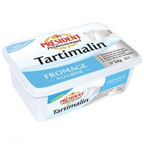 Tartimalin Fromage à la crème barquette 1 kg