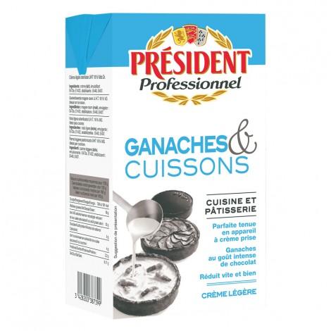 Crème UHT Ganaches et Cuissons Brique 1 L