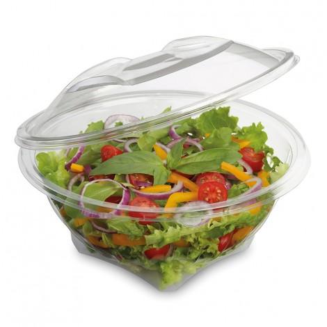Bol salade cristal et couvercle déchiffrable