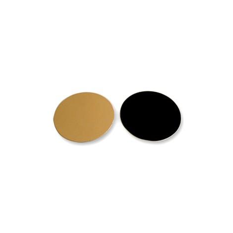 Rond or/noir 24 cm - 1100 gr