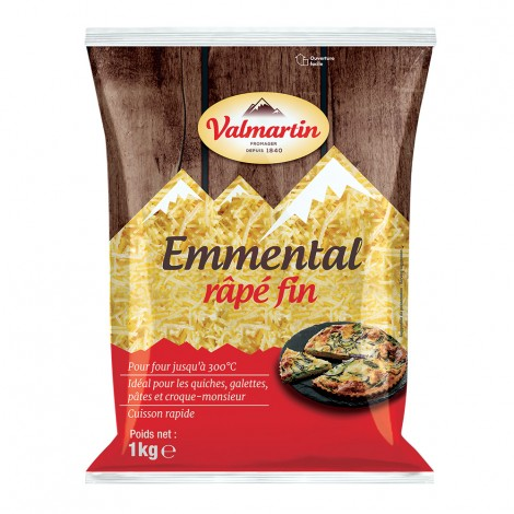 Emmental Rapé fin 1 kg