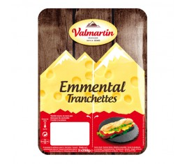 Emmental tranchettes 2x250g