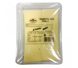 Emmental tranchettes 500 g 40 tranches