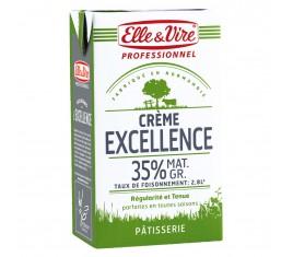 Crème 35% Elle et Vire spécial Pâtisserie 6x1L