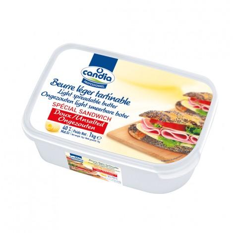 Beurre 40% doux spécial sandwich CANDIA PROFESSIONNEL