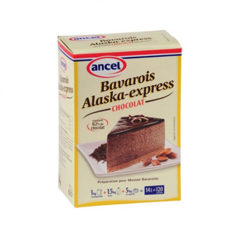 BAVAROIS ALASKA-EXPRESS CHOCOLAT