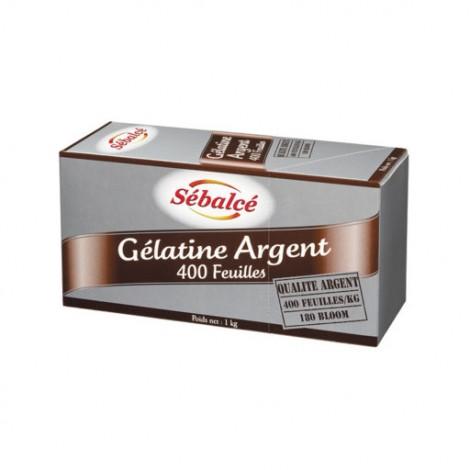 Gélifiant et stabilisant ARGENT 400 FEUILLES