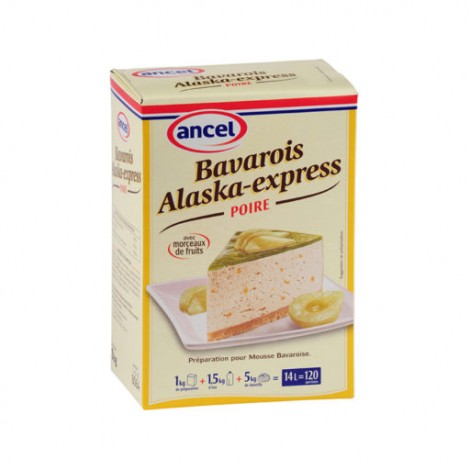 BAVAROIS ALASKA-EXPRESS POIRE