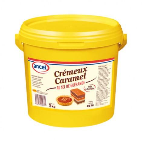 Crèmeux caramel au sel de Guérande