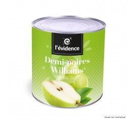 Demi-poires Williams 3/1
