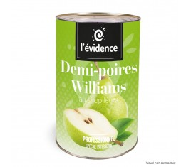 Demi-poires Williams 5/1