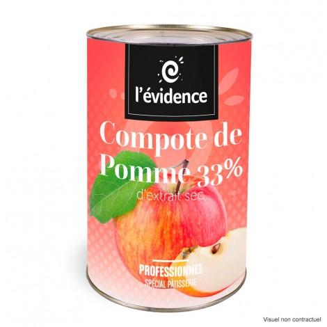 Compote de Pomme 33%