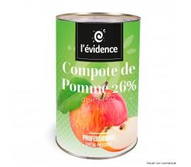 Compote de Pomme 26%