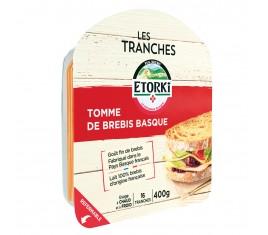 Tranches de Tomme de brebis basque Etorki