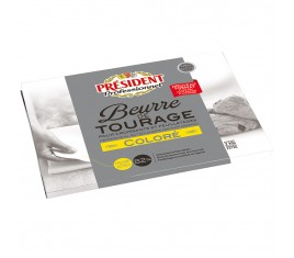 Beurre de Tourage 82% coloré Plaque 2 kg