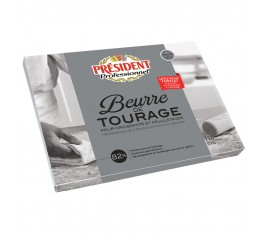 Beurre Tourage 82% Plaque 2 kg
