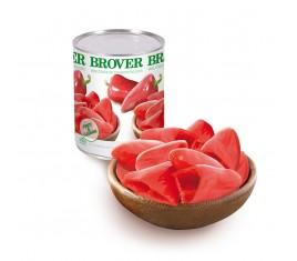 Mini cones de poivrons rouges