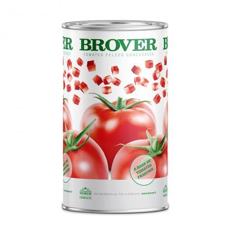 Tomates pelées cncassées