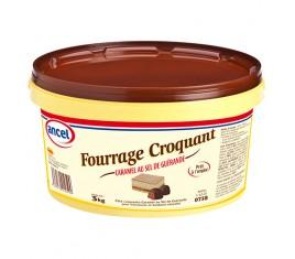 Fourrage croquant caramel au sel de Guérande