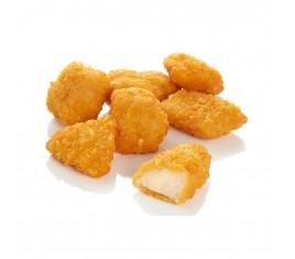 Morceaux de filet de poulet panés corn flakes Halal 25g