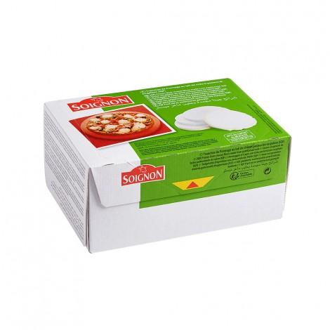 Tranches de fromage de chèvre surgelées IQF (Affiné 7 g - Diamètre 42 mm)