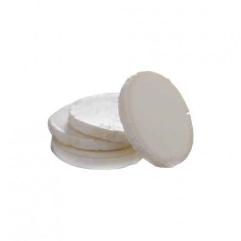 Tranches de fromage de chèvre surgelées IQF (Non affiné 7 g - Diamètre 42 mm)