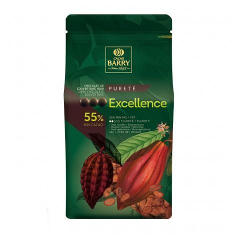Excellence - Chocolat de couverture noir 55%