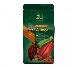 Alunga Chocolat de couverture au lait 41% cacao