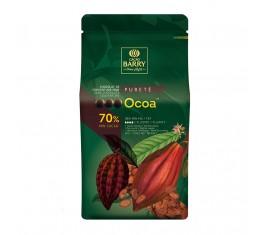 Ocoa Chocolat de couverture noir 70% cacao