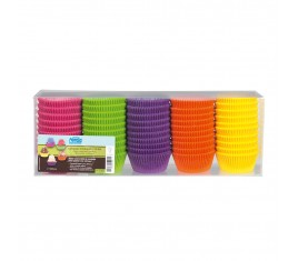 Assortiment caissettes 5 couleurs N°10 bis