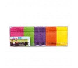Assortiment caissettes 5 couleurs N°88